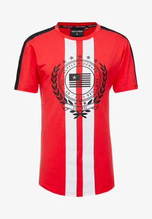 VENUS  - T-shirt imprimé - red