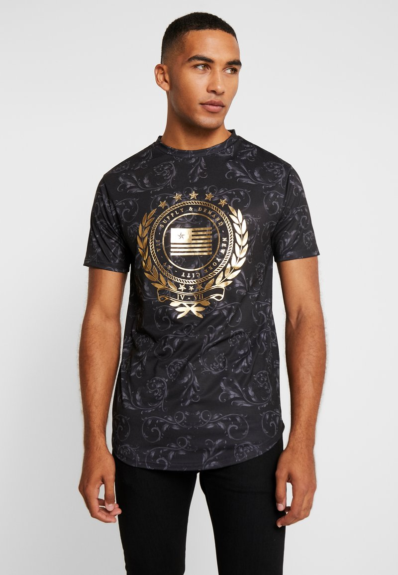 Supply & Demand - ANCESTOR  - Camiseta estampada - black