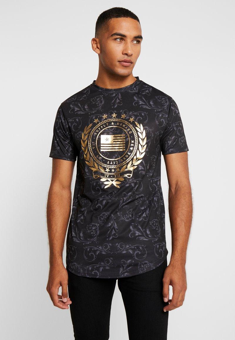 Supply & Demand - ANCESTOR  - T-shirt imprimé - black