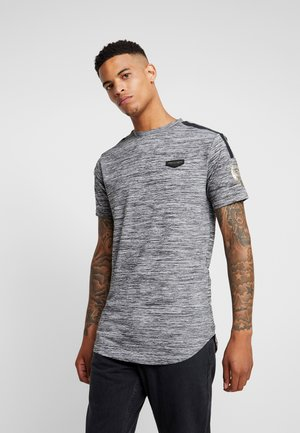 HOLT  - Print T-shirt - grey marl