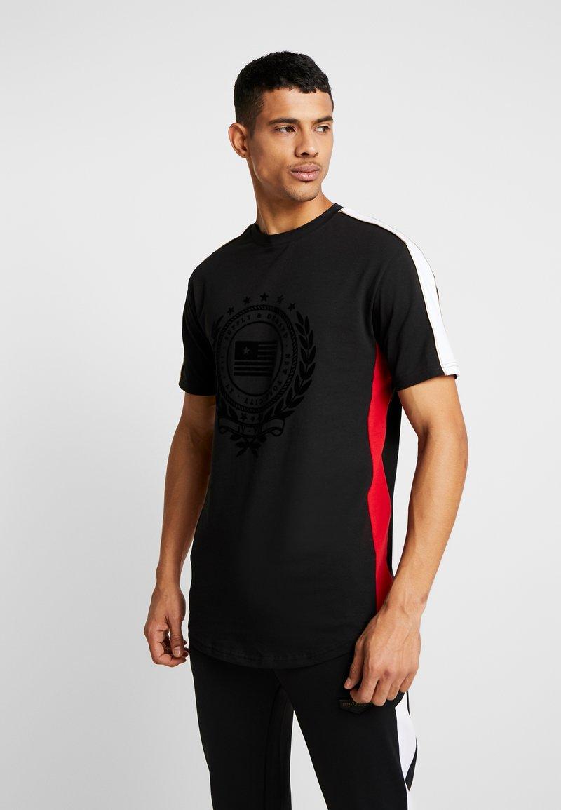 Supply & Demand - OCTAVE - Jednoduché triko - black