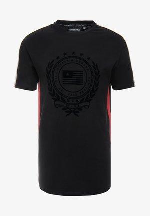 OCTAVE - Jednoduché triko - black