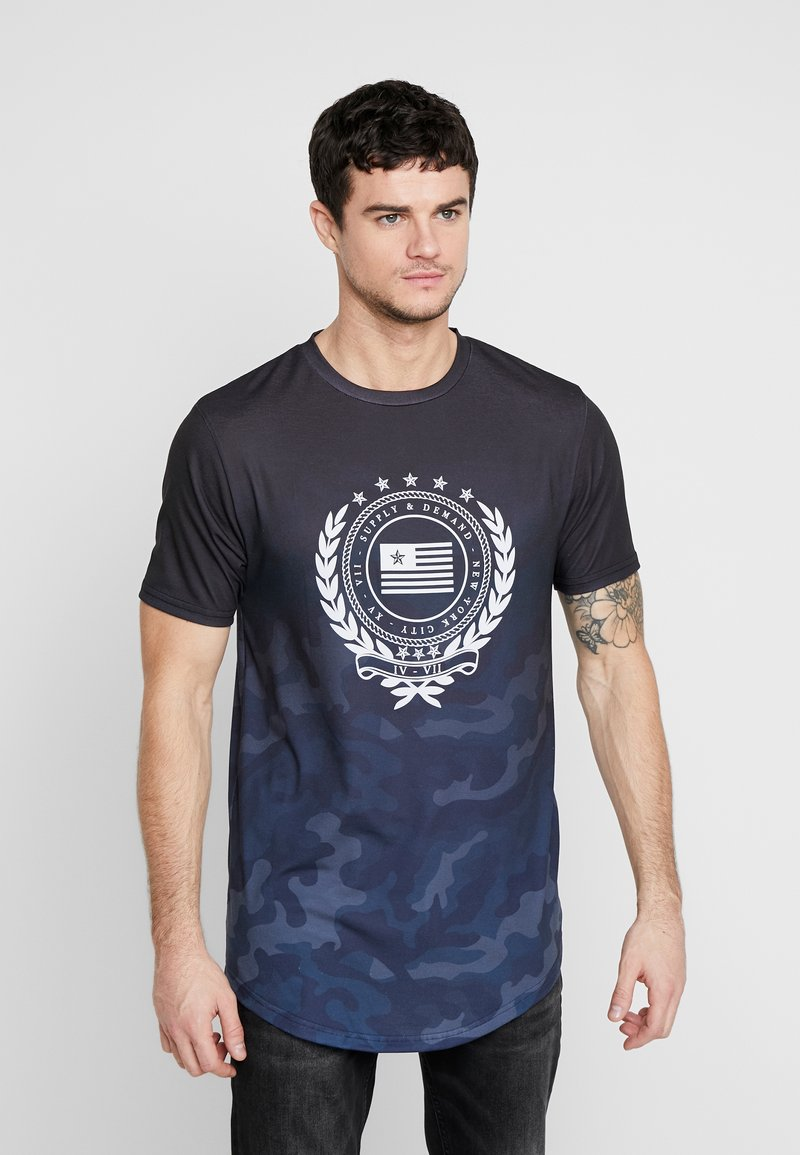 Supply & Demand - FUSE - T-shirts med print - black