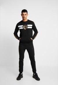 Supply & Demand - HERITAGE CREW - Sweatshirt - black - 1