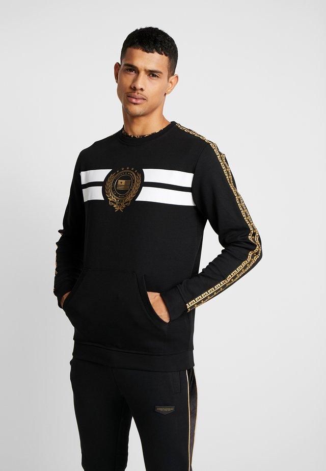 HERITAGE CREW - Sweater - black