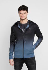 Supply & Demand - VANISH HOOD - Trainingsvest - blue/black fade - 0