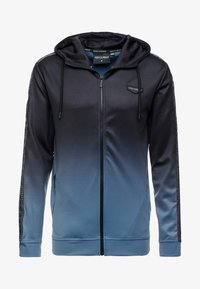 Supply & Demand - VANISH HOOD - Trainingsvest - blue/black fade - 3