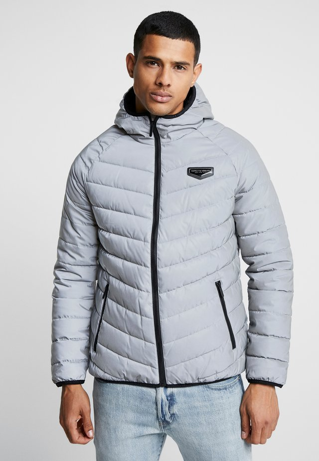 EXPLORE PADDED JACKET - Allvädersjacka - metallic grey