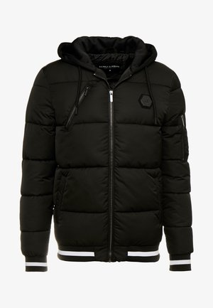 HARLEY PADDED JACKET - Chaqueta de invierno - black