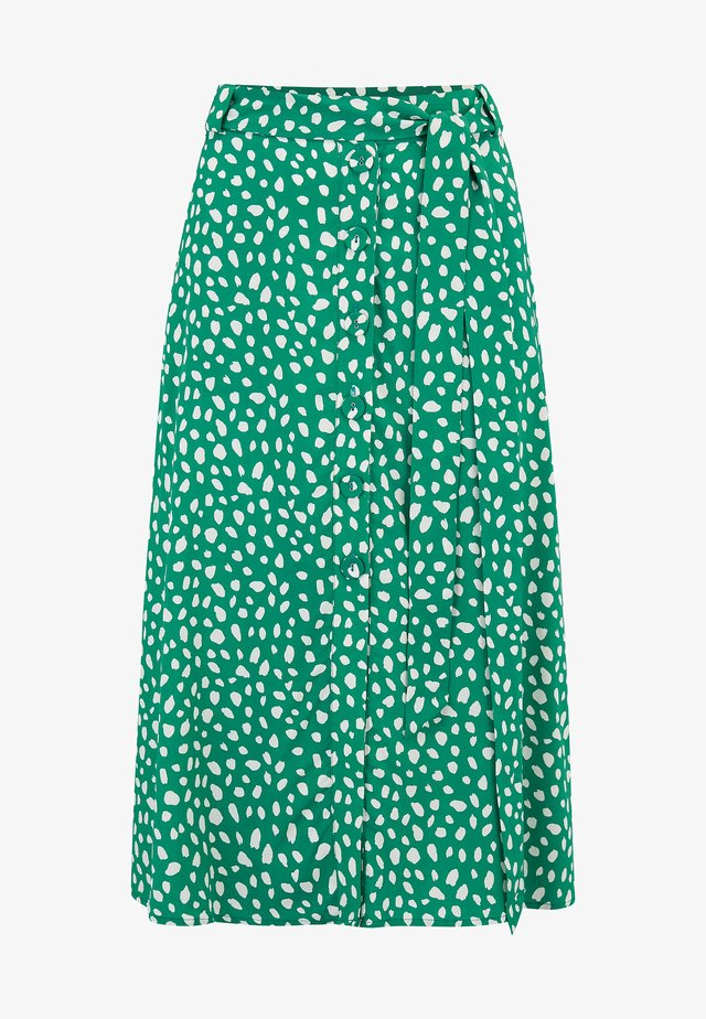 ROSANNA PAINTERLY SPOT - A-linjekjol - green