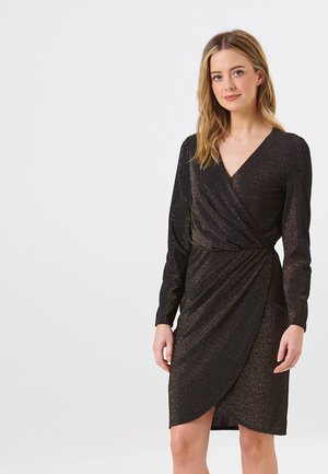 KELLI GOLD SPARKLE - Robe d'été - black