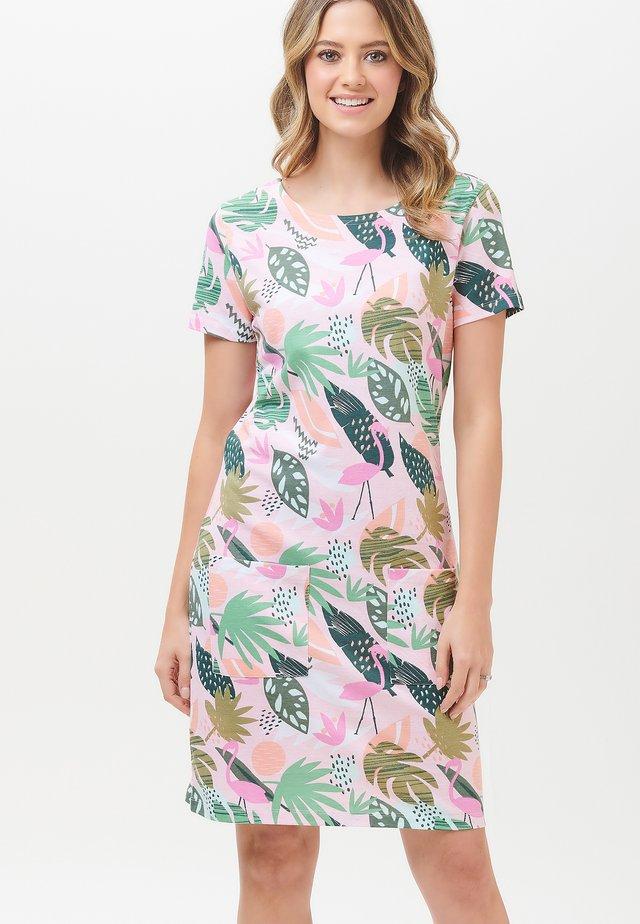 ARIANE MIAMI FLAMINGO - Korte jurk - multi-coloured