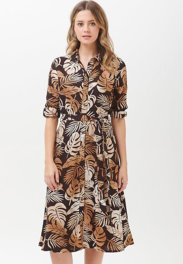 MERISSA COCOA PALM - Blousejurk - brown