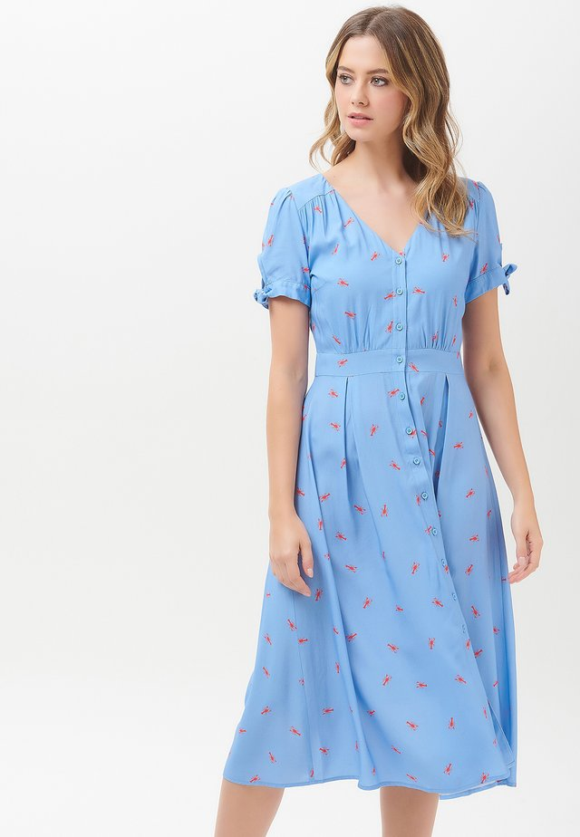 HERMIONE HOT LOBSTER - Day dress - blue