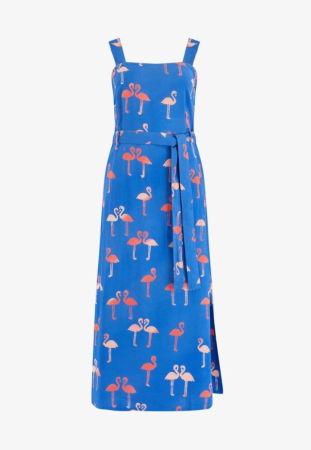 ELVA BERMUDA FLAMINGO - Korte jurk - blue