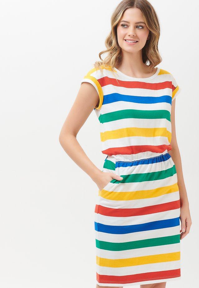 KATE BOLD RAINBOW - Korte jurk - multi-coloured