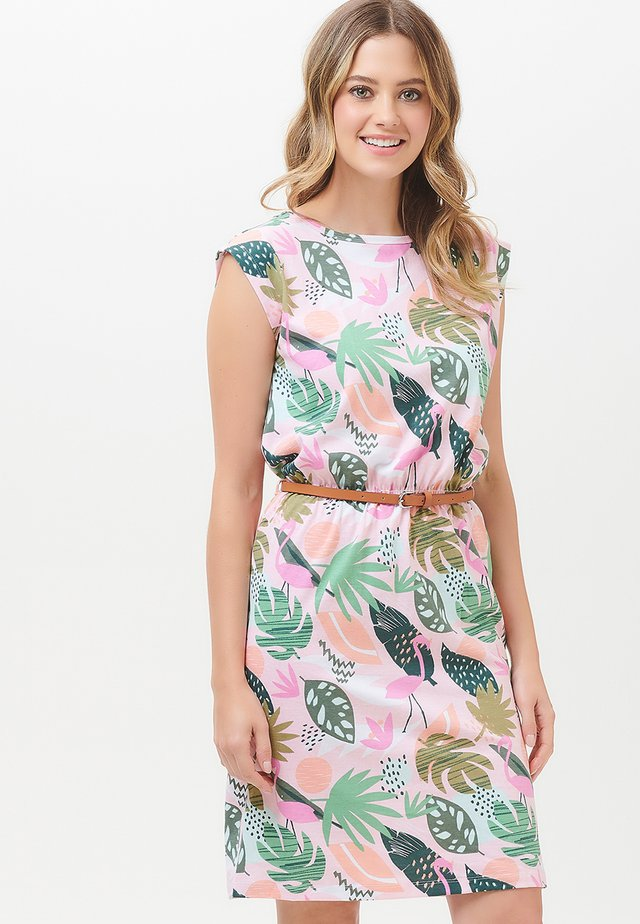 HETTY MIAMI FLAMINGO - Korte jurk - pink