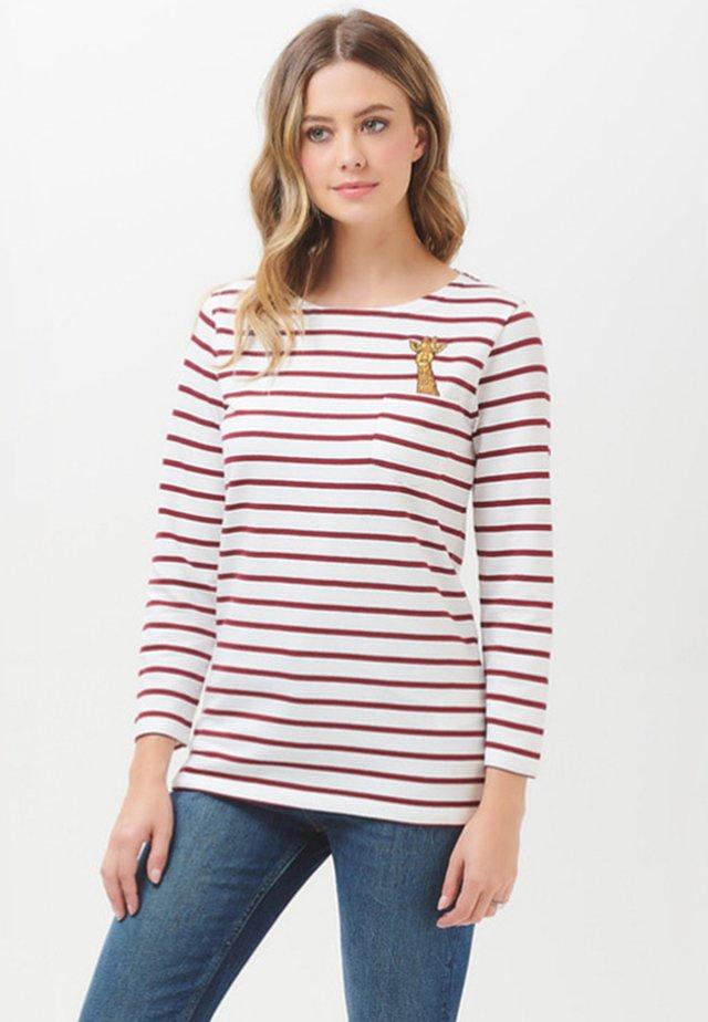 HIGHER GIRAFFE - Långärmad tröja - off-white