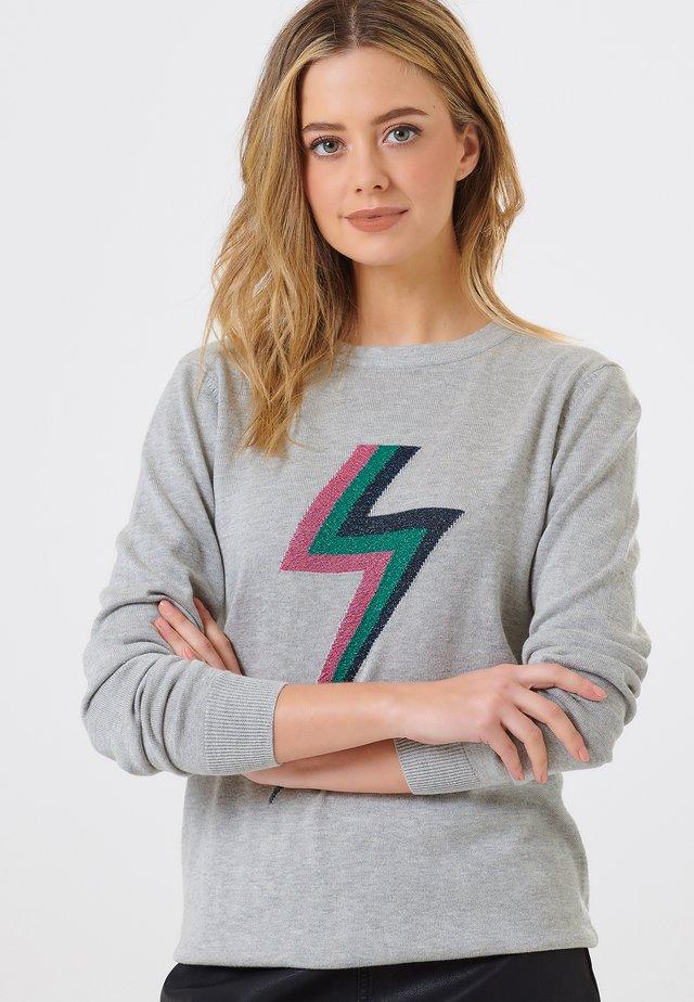 RITA FLASH OF LIGHTNING - Sweatshirt - grey