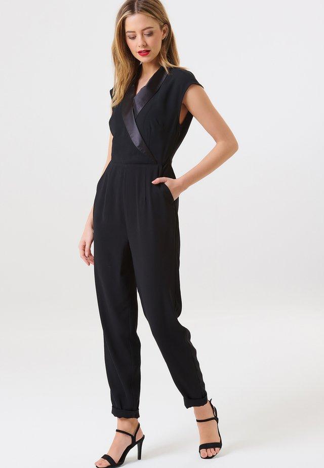 JOANNA TUXEDO - Overall / Jumpsuit - black
