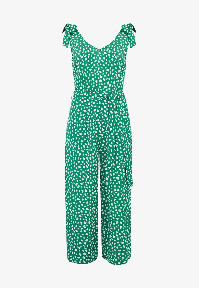 ATHINA PAINTERLY SPOT - Overall / Jumpsuit /Buksedragter - green