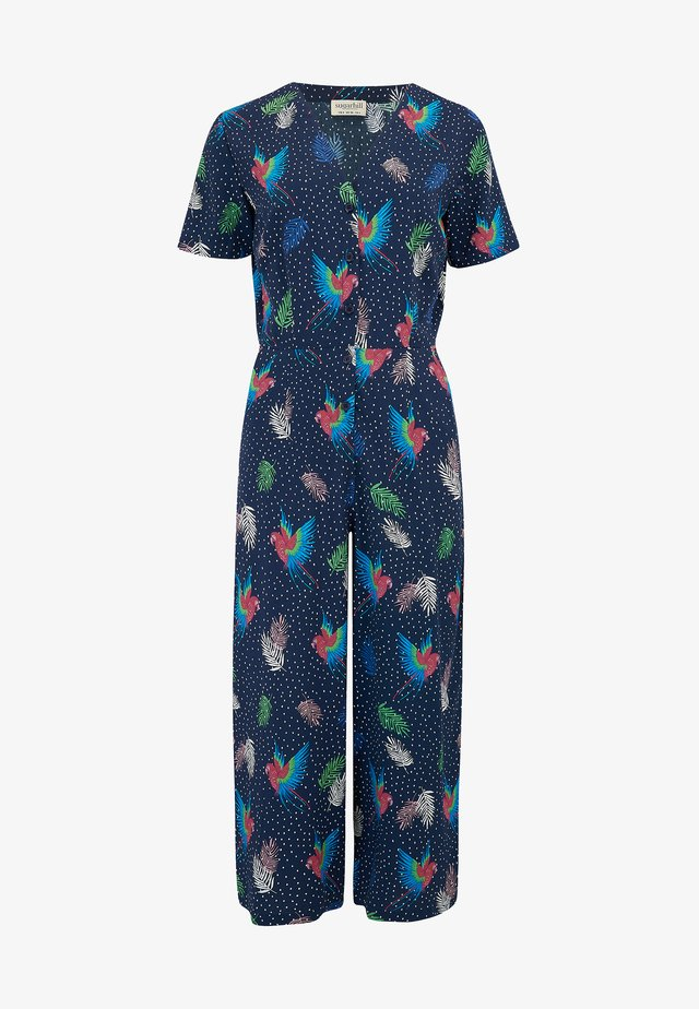 JILLY PARADISE PARROT - Overall / Jumpsuit /Buksedragter - blue