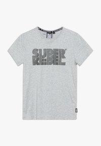 SuperRebel - BOYS - T-shirt med print - grey melee - 0
