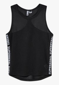 SuperRebel - GIRLS DYNAMIC SINGLET - Top - black - 0