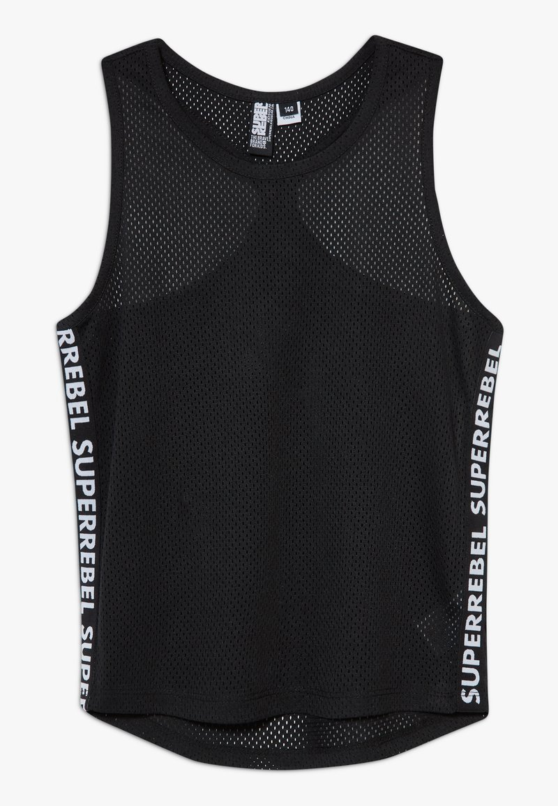 SuperRebel - GIRLS DYNAMIC SINGLET - Top - black