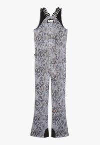 SuperRebel - SKI DUNGAREE  - Zimní kalhoty - beige - 1