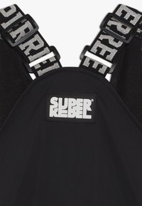 SuperRebel - SKI DUNGAREE  - Snow pants - black - 3