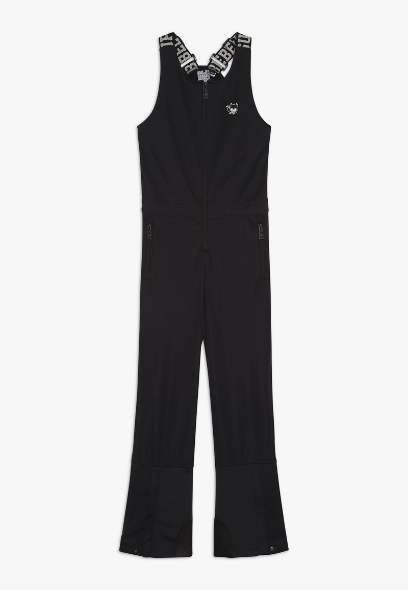 SuperRebel - SKI DUNGAREE  - Snow pants - black