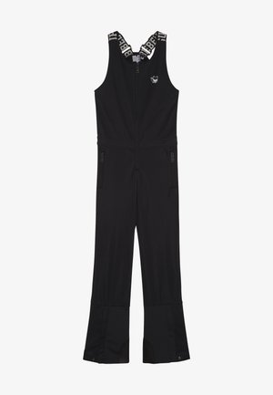SKI DUNGAREE  - Snow pants - black
