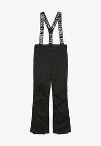 SuperRebel - SKI PANT PLAIN - Pantalon de ski - black - 3