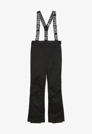 SKI PANT PLAIN - Zimní kalhoty - black