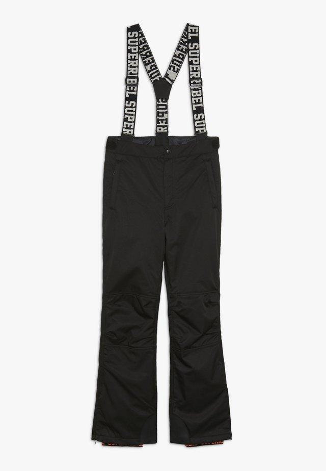 SKI PANT PLAIN - Täckbyxor - black