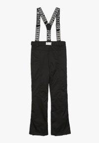 SuperRebel - SKI PANT PLAIN - Pantalon de ski - black - 1