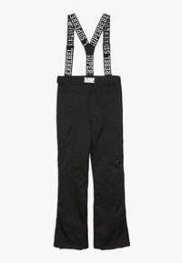 SuperRebel - SKI PANT PLAIN - Zimní kalhoty - black - 1