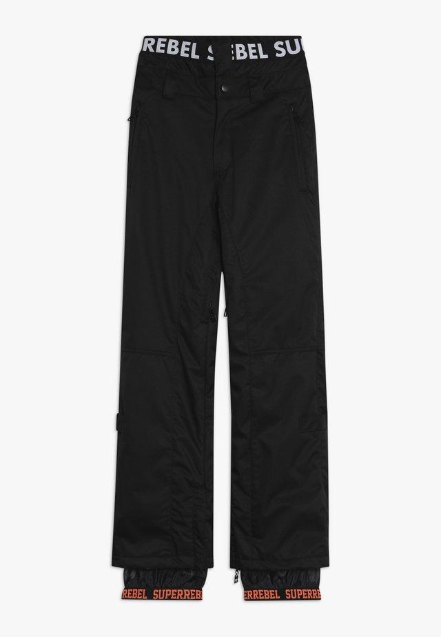 SKI SNOWBOARD PANT PLAIN - Täckbyxor - black