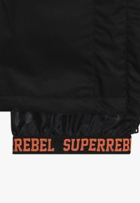 SuperRebel - SKI SNOWBOARD PANT PLAIN - Snow pants - black - 2