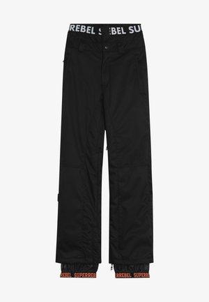 SKI SNOWBOARD PANT PLAIN - Zimní kalhoty - black