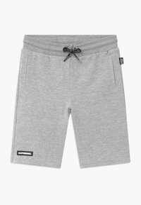 SuperRebel - ACTIVE HEAVY INTERLOCK ALL-OVER - Short de sport - grey - 0