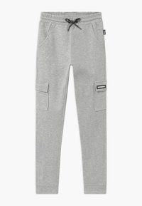 SuperRebel - ACTIVE HEAVY INTERLOCK  - Pantalon de survêtement - grey - 0