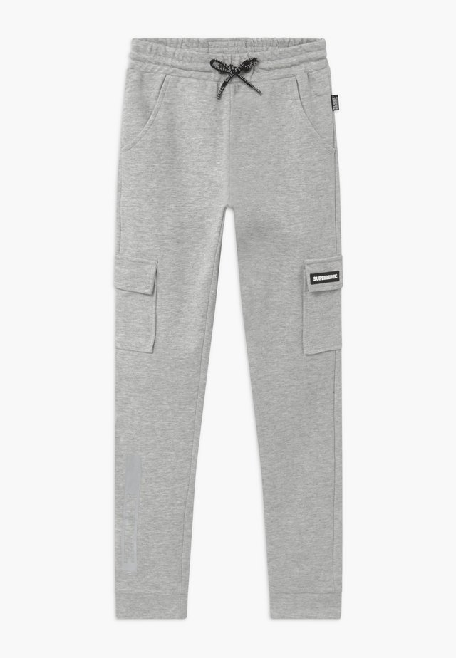 ACTIVE HEAVY INTERLOCK  - Tracksuit bottoms - grey