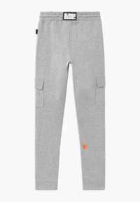SuperRebel - ACTIVE HEAVY INTERLOCK  - Pantalon de survêtement - grey - 1