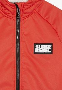 SuperRebel - GIRLS THIN JACKET - Snowboardová bunda - neon red - 4