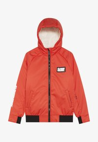 SuperRebel - GIRLS THIN JACKET - Snowboardová bunda - neon red - 3