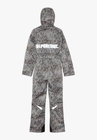 SuperRebel - SKI SUIT BOYS GIRLS - Snow pants - beige - 1