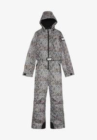 SuperRebel - SKI SUIT BOYS GIRLS - Snow pants - beige - 3