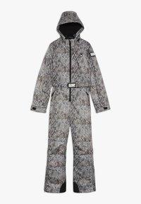 SuperRebel - SKI SUIT BOYS GIRLS - Snow pants - beige - 0